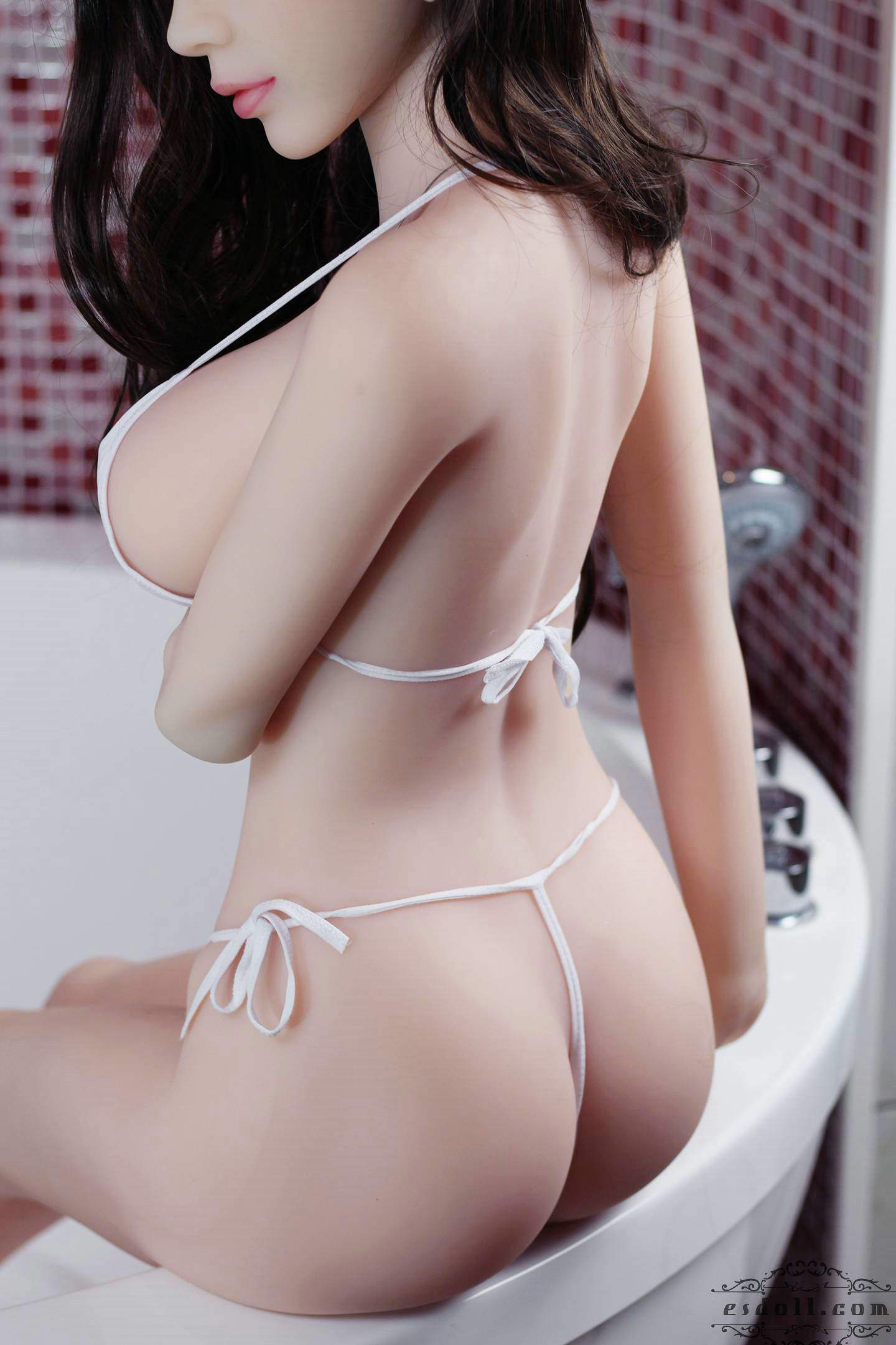 Silicone Sex Angel Stand Doll