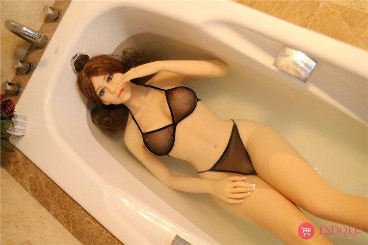 165cm Nicole Silicone Sex Angel Doll-11