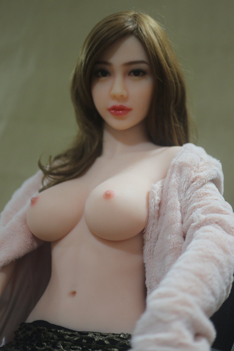 Silicone Sex Angel Stand Doll - Ellie 161cm