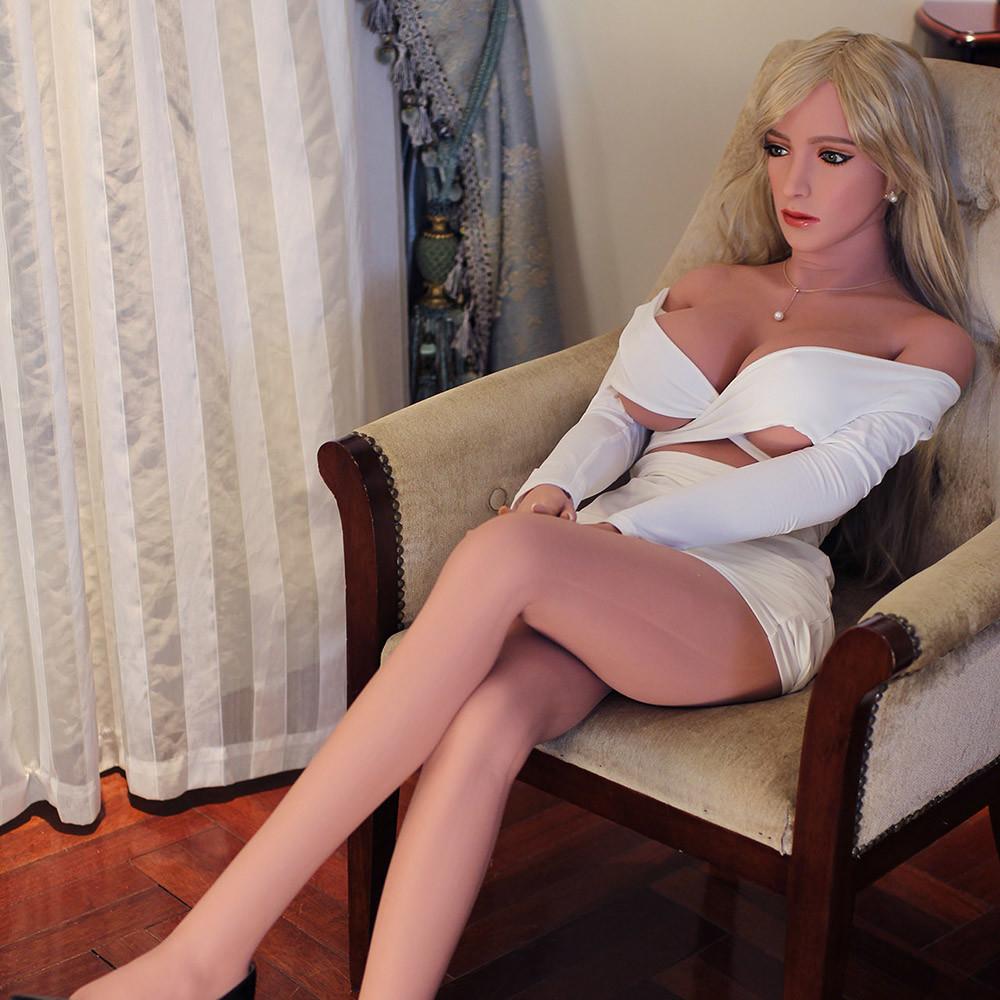 168cm Monica Silicone Sex doll - 24