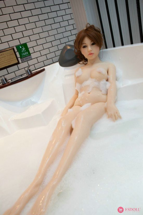 138cm 4.53ft Silicone Sex Doll - 13