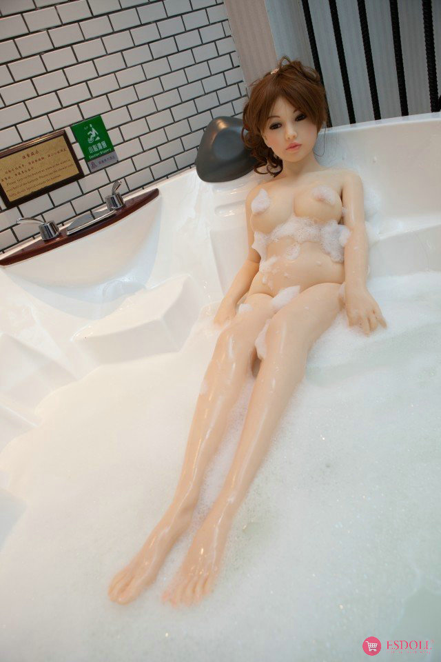138cm 4.53ft Silicone Sex Doll