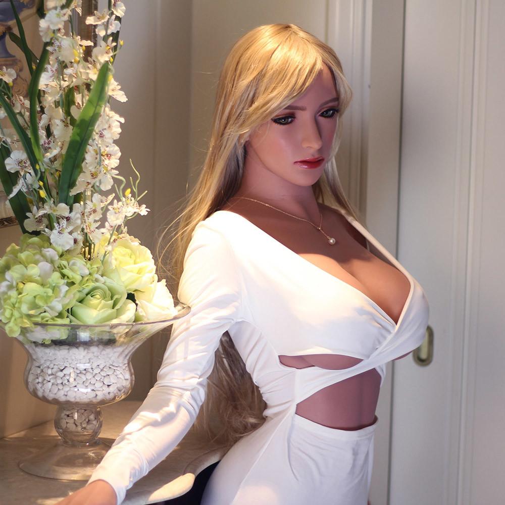168cm Monica Silicone Sex doll - 33