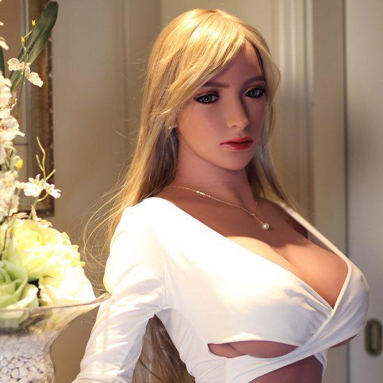 168cm Monica Silicone Sex doll