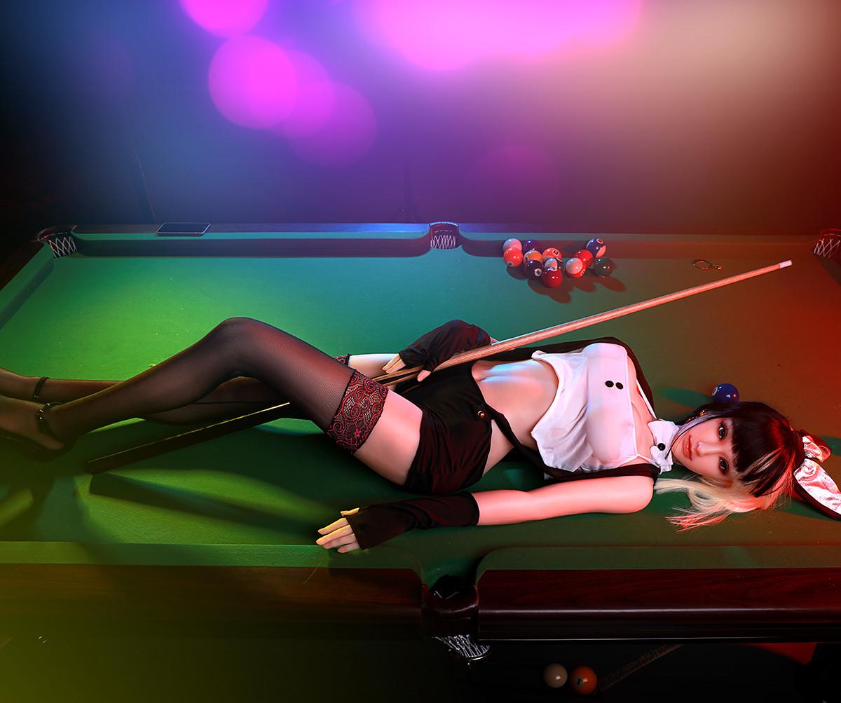 00% Platinum Silicone 165cm 5.4ft Eva Sex Love Doll - 4