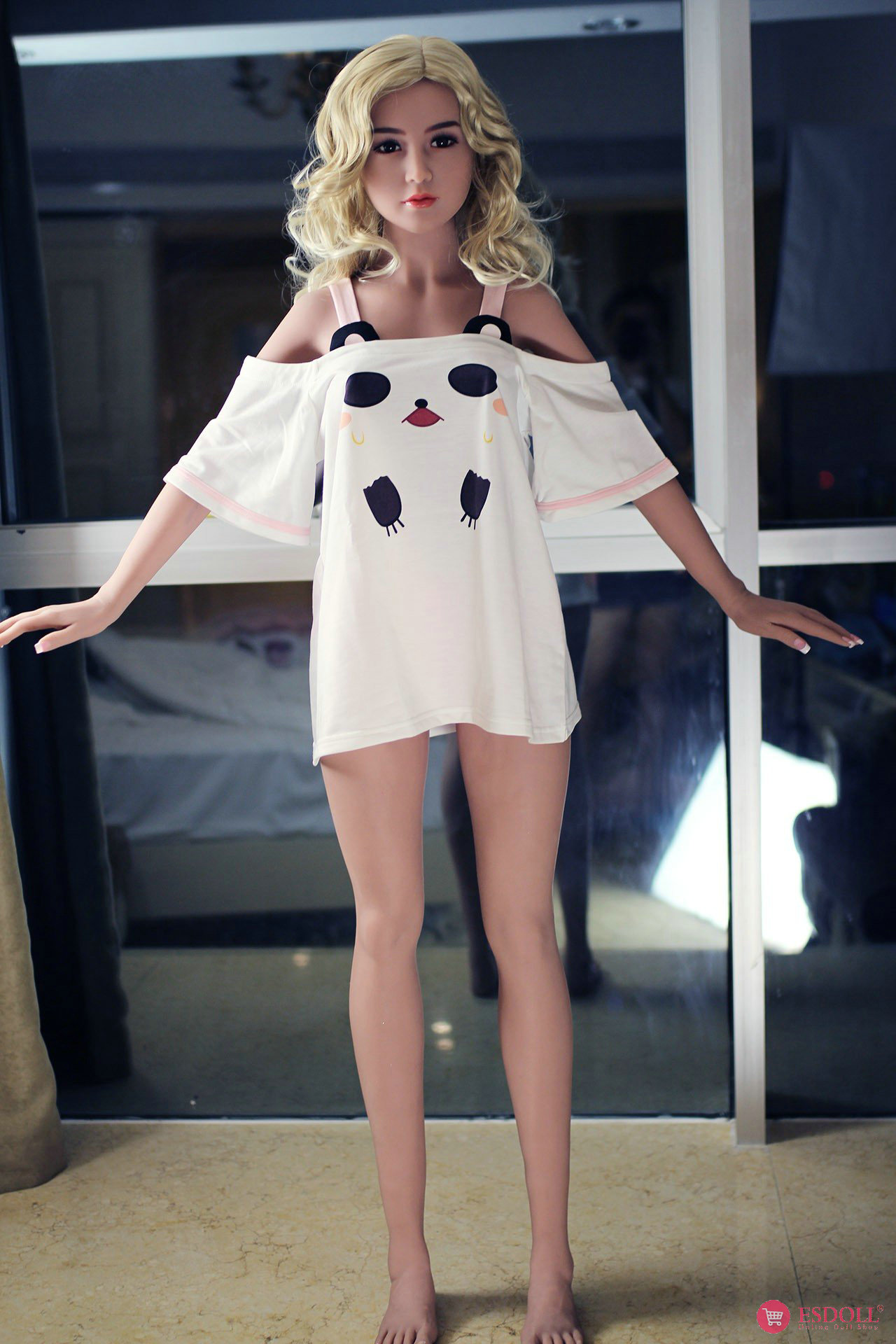 156cm 5.12ft Bonnie Silicone sex doll - 1