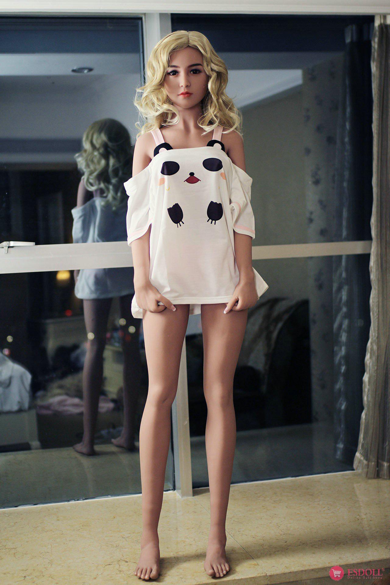 156cm 5.12ft Bonnie Silicone sex doll - 5