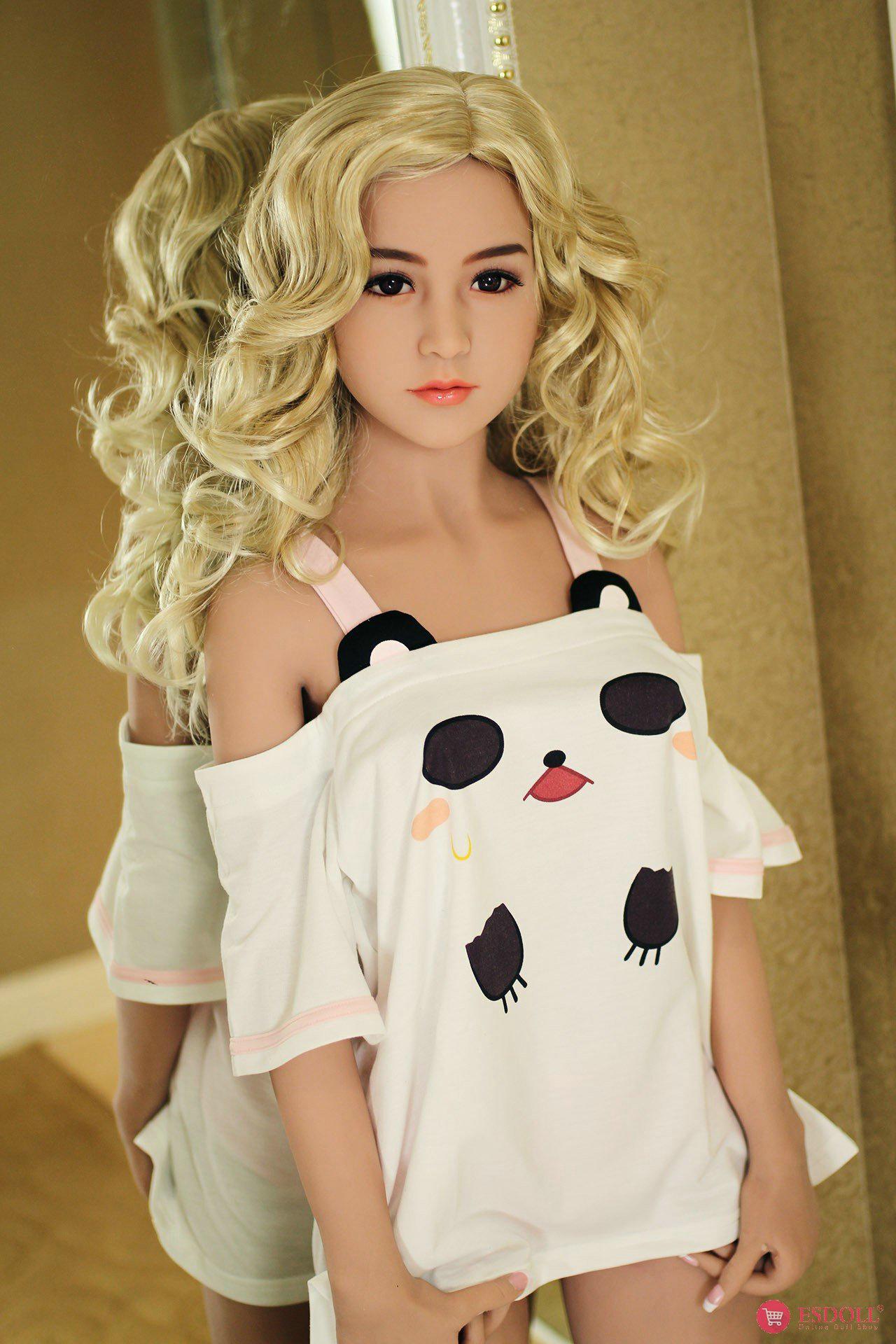 156cm 5.12ft Bonnie Silicone sex doll - 6