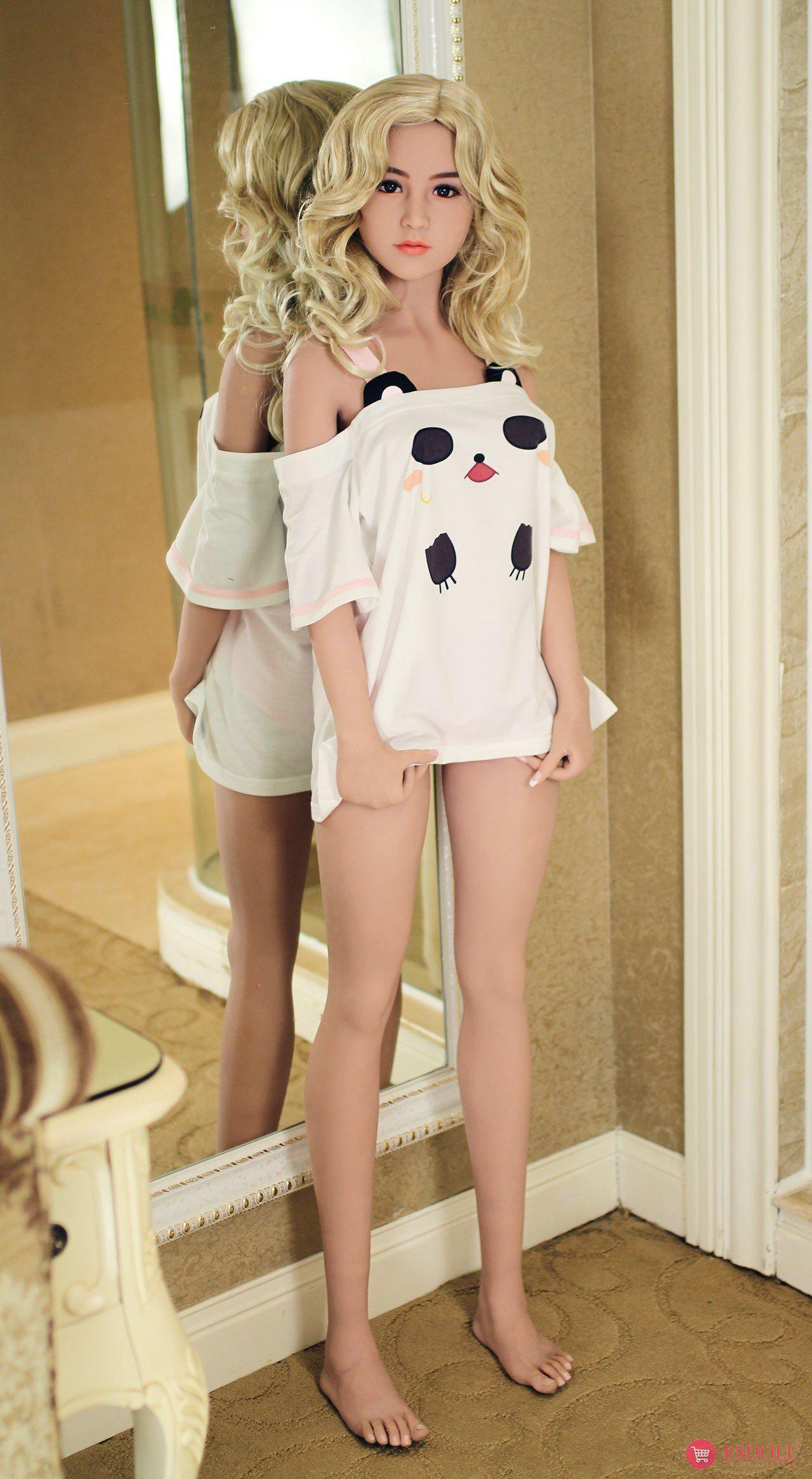 156cm 5.12ft Bonnie Silicone sex doll - 8