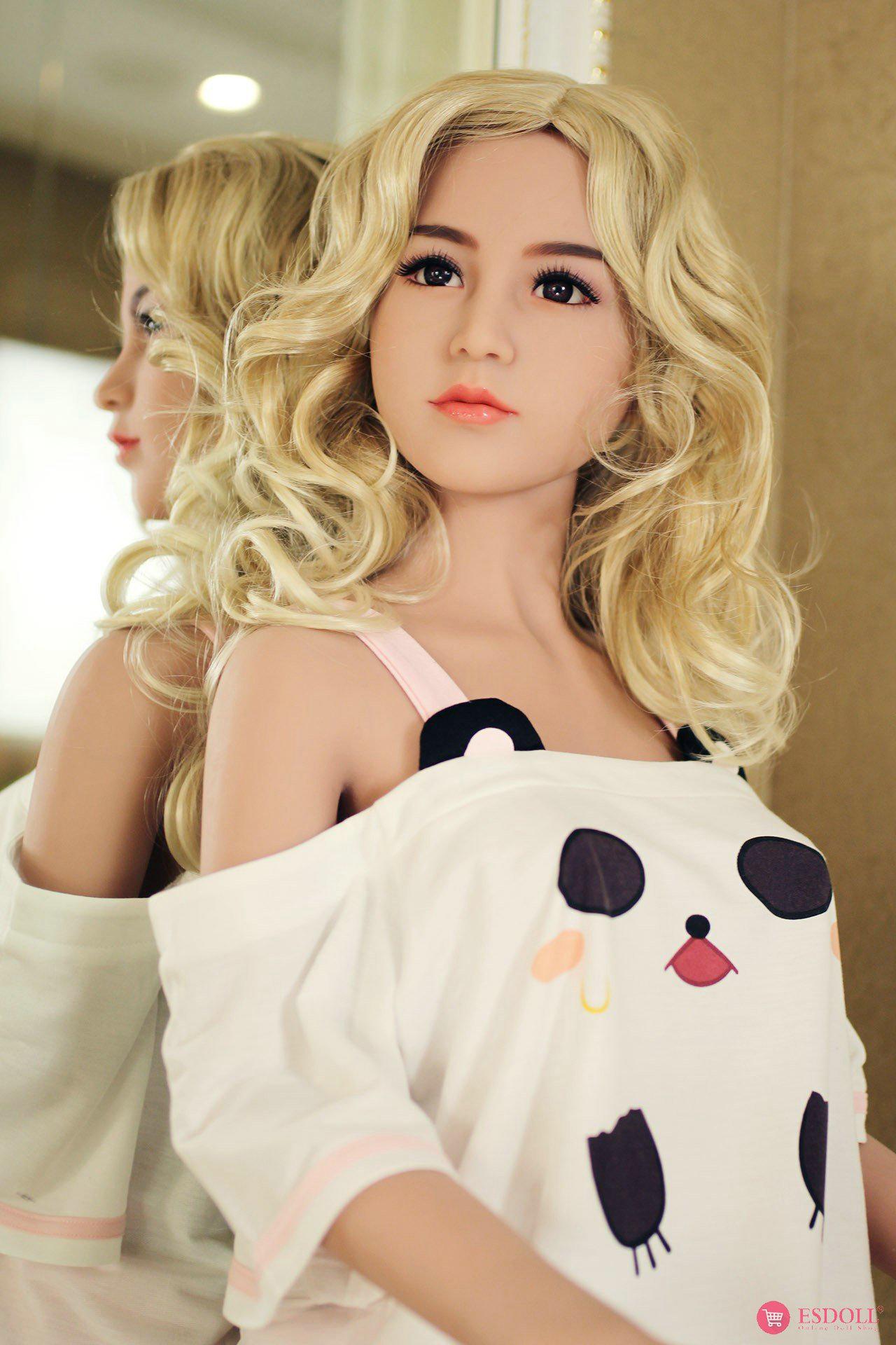 156cm 5.12ft Bonnie Silicone sex doll - 14