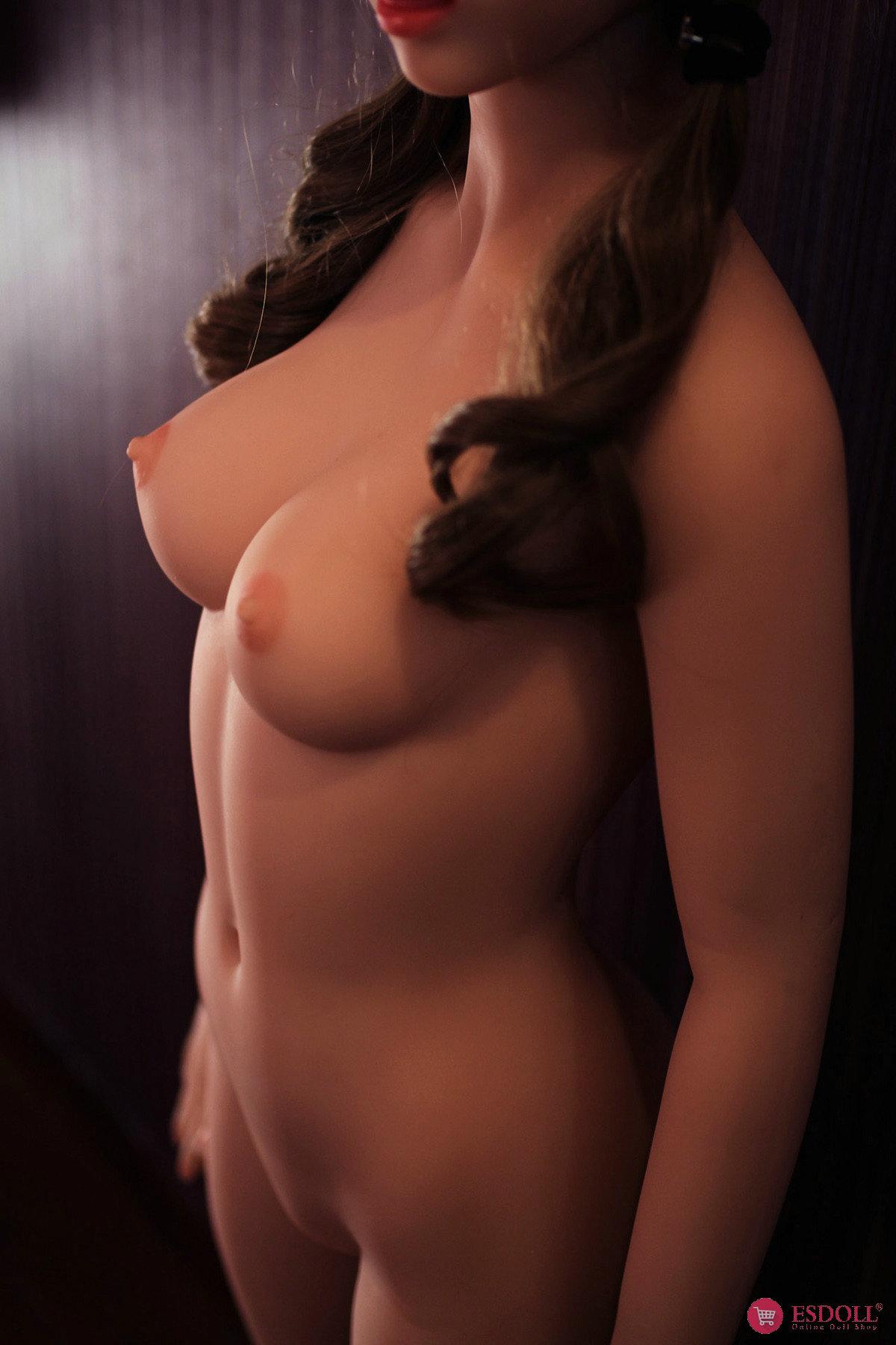 153cm Niki Silicone Sex Angel Doll Body