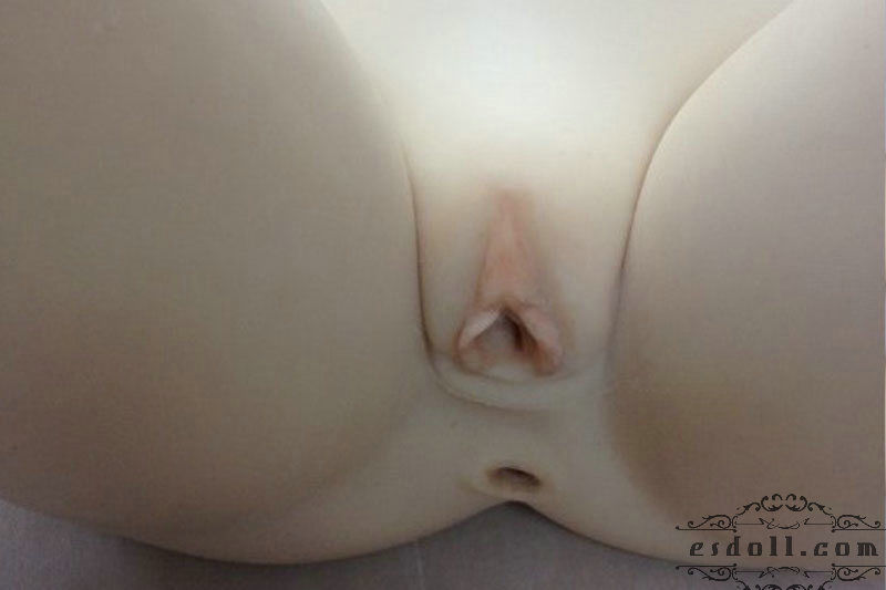 135cm 4.43ft Carol Silicone Sex Angel Doll Vagina