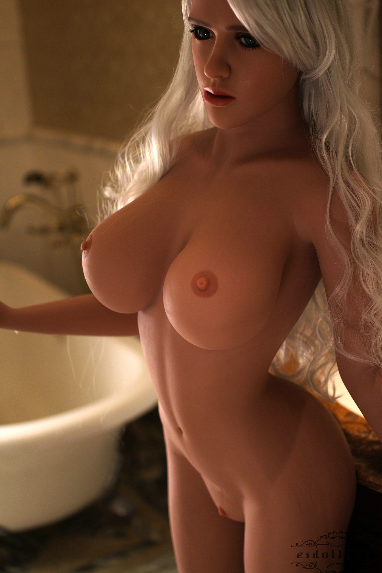 155cm 5.08ft Mary Silicone Sex Angel Doll