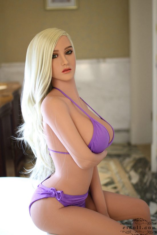 165cm 5.41ft Cathy Silicone Sex Doll - 5