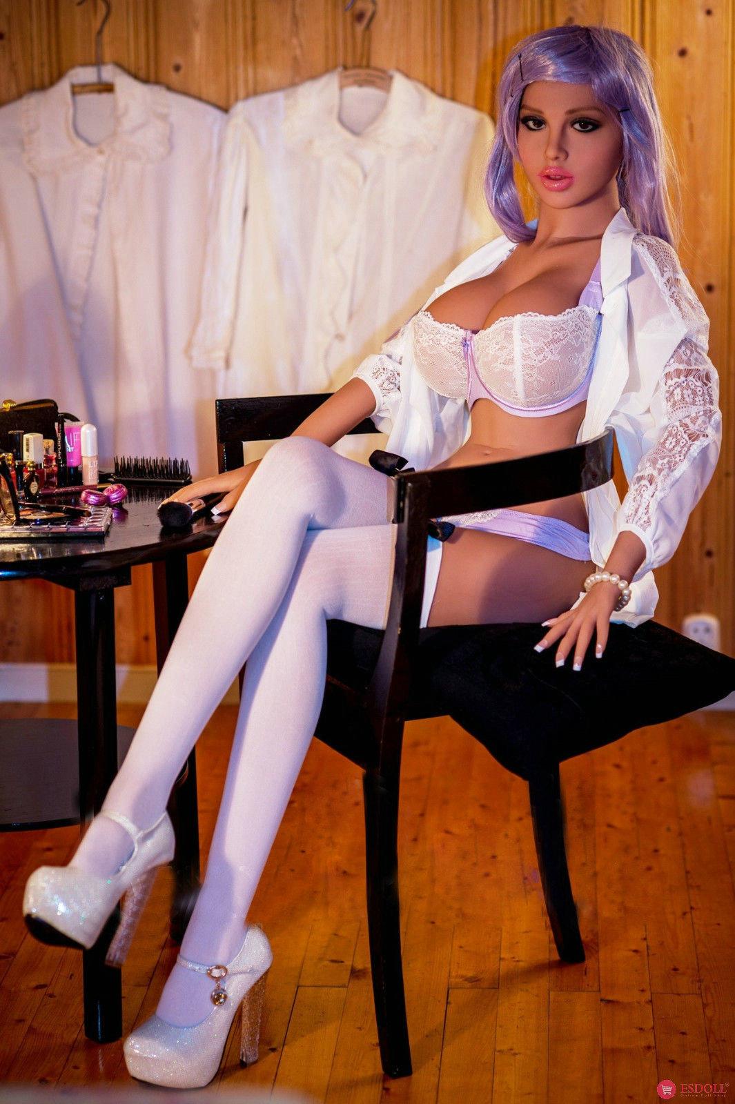 daisy-158cm-5-18ft-tan-skin-silicone-sex-angel-doll - 3