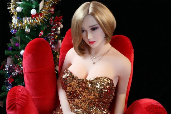 165cm Cougar Christmas Silicone Sex Doll