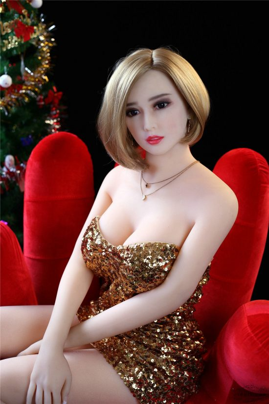 165cm Cougar Christmas sex doll-9