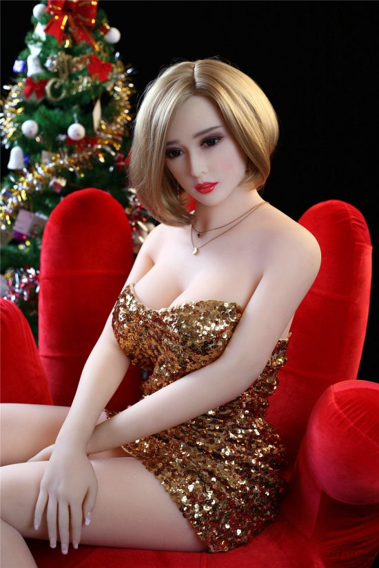 165cm Cougar Christmas sex doll-11