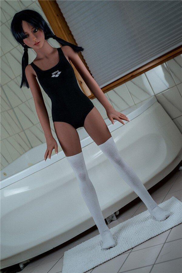 140cm Small Breast Asian Love Doll-10