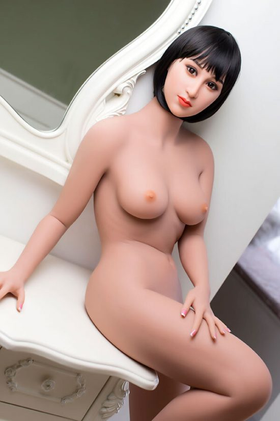162cm Curved Big Ass Surreal WM Female Sex Dolls Silicone-3