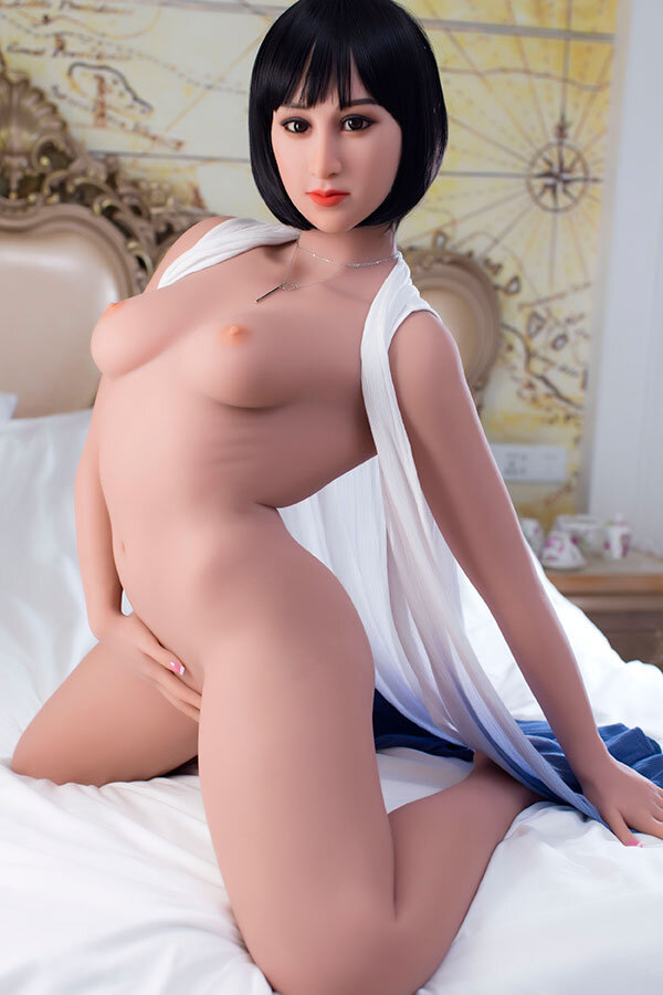 162cm Curved Big Ass Surreal WM Female Sex Dolls Silicone