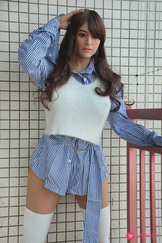 163cm Busty Hip Big Ass TPE Sex Doll-4