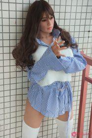 163cm Busty Hip Big Ass TPE Sex Doll-5
