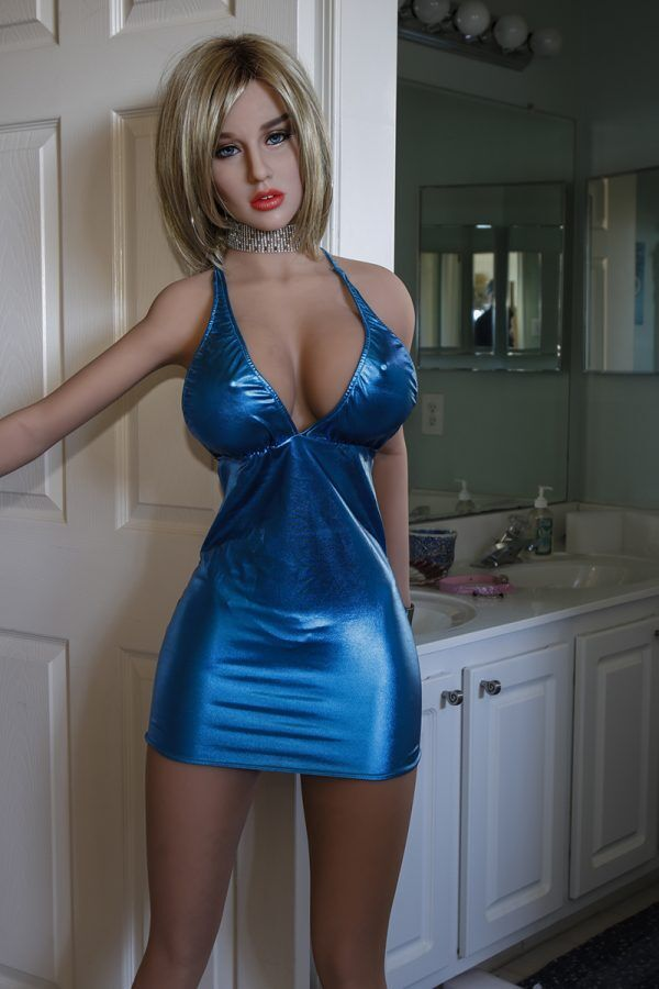 Blue Underwear Sex Doll with Big Tits 170cm (2)