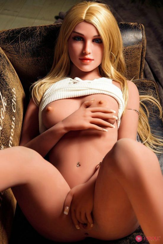 Life Like LoveDoll Elegant Blonde Sex Doll 158CM (16)