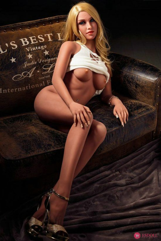 Life Like LoveDoll Elegant Blonde Sex Doll 158CM (18)