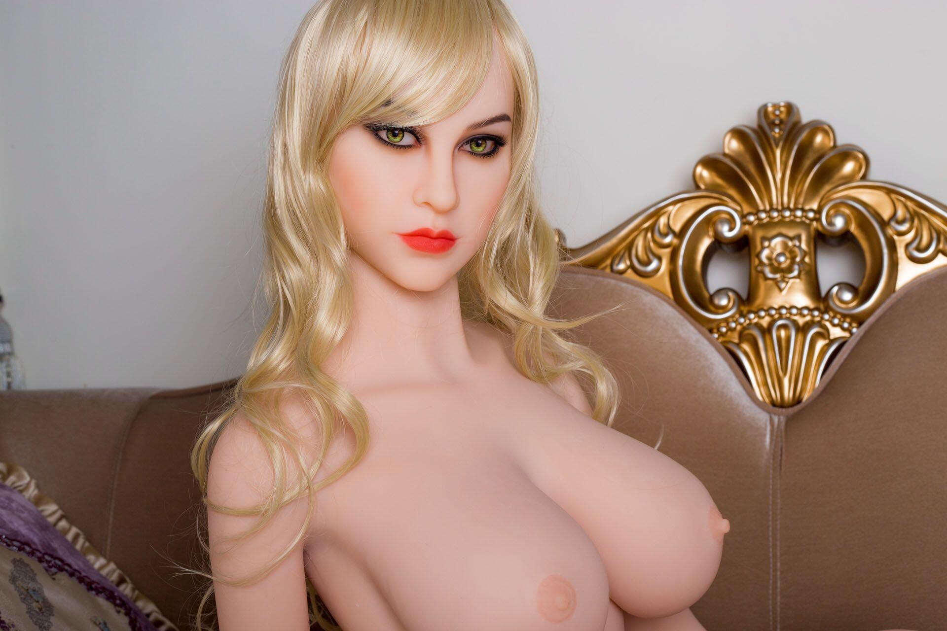 161cm Blonde Sexy Kitty Real Lifelike Doll (3)