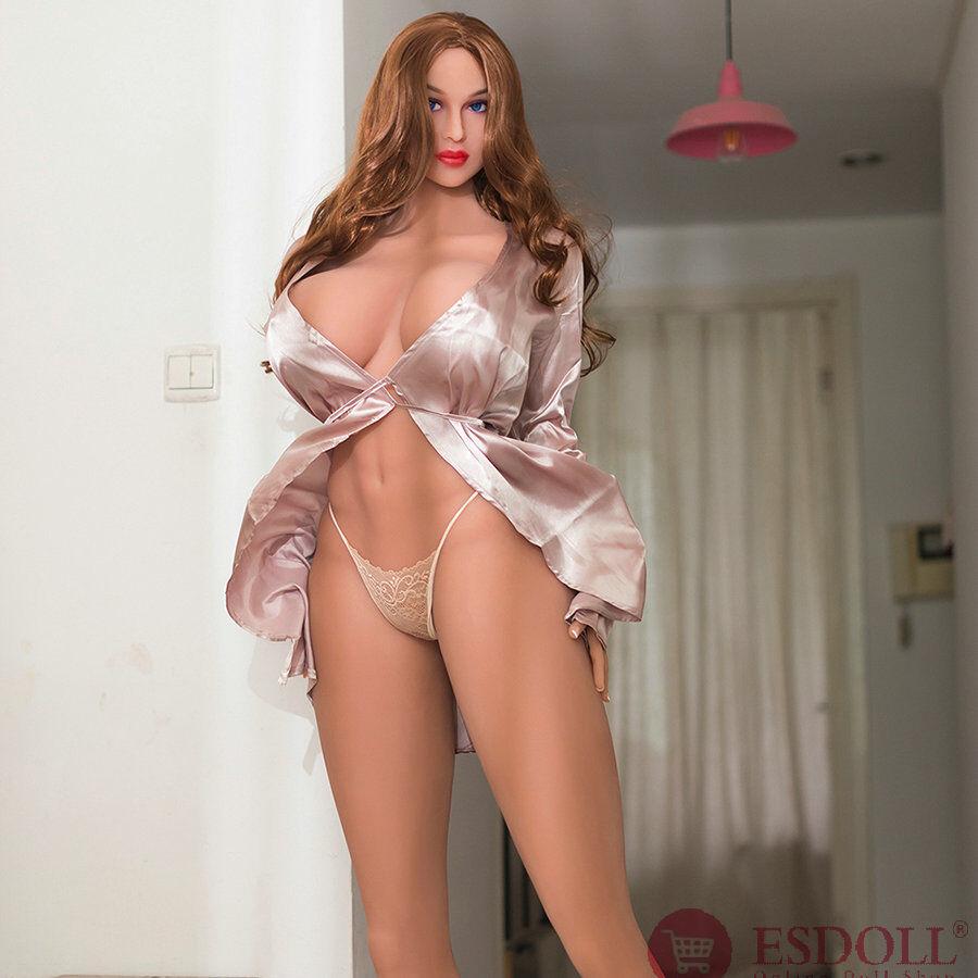 2020 Newest 176CM Tall Girl Supermodel Big Breast Blue Eyes Sexy Real Sex Doll (2)