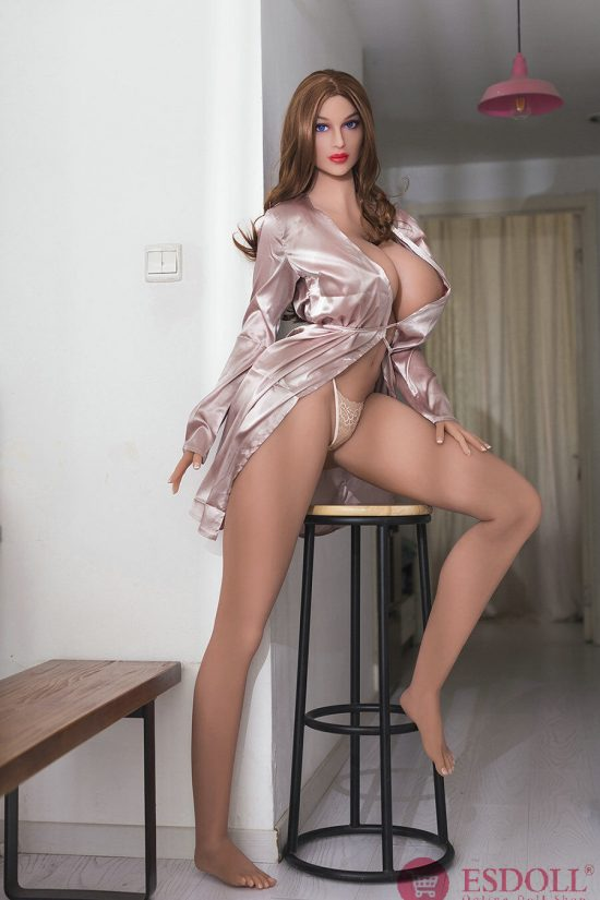 2020 Newest 176CM Tall Girl Supermodel Big Breast Blue Eyes Sexy Real Sex Doll (3)