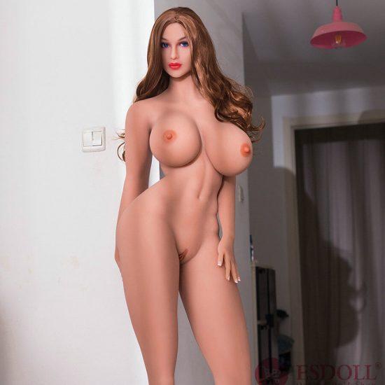 2020 Newest 176CM Tall Girl Supermodel Big Breast Blue Eyes Sexy Real Sex Doll (4)