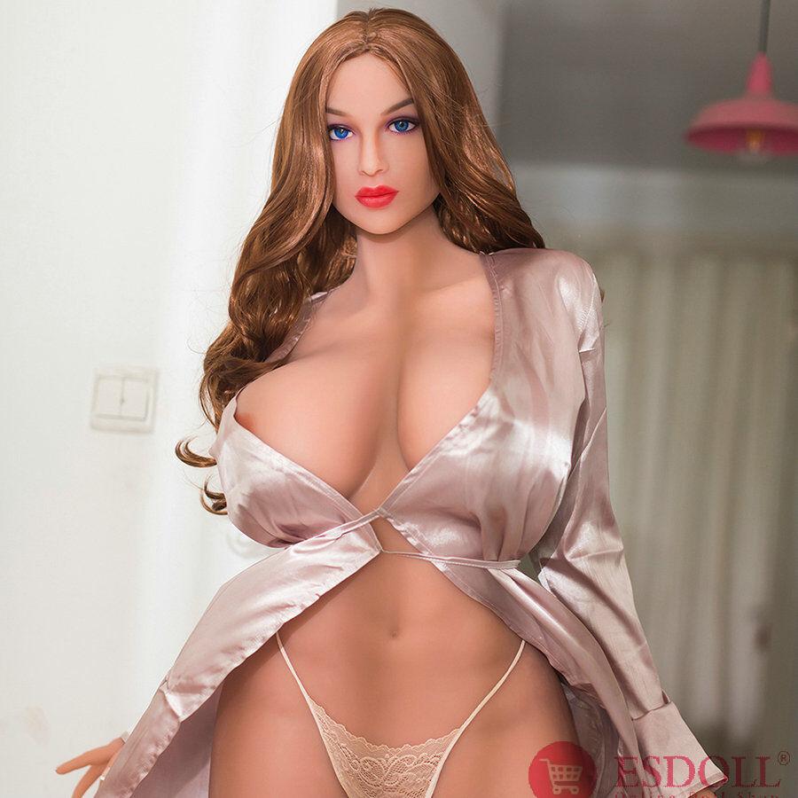 2020 Newest 176CM Tall Girl Supermodel Big Breast Blue Eyes Sexy Real Sex Doll (7)
