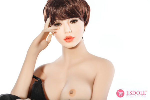 ESDOLL-exquisite-short-hair-adult-TPE-sex-dolls-165cm (10)