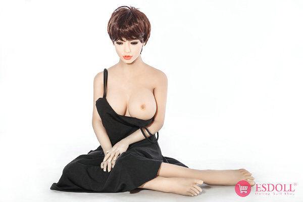 ESDOLL-exquisite-short-hair-adult-TPE-sex-dolls-165cm (12)