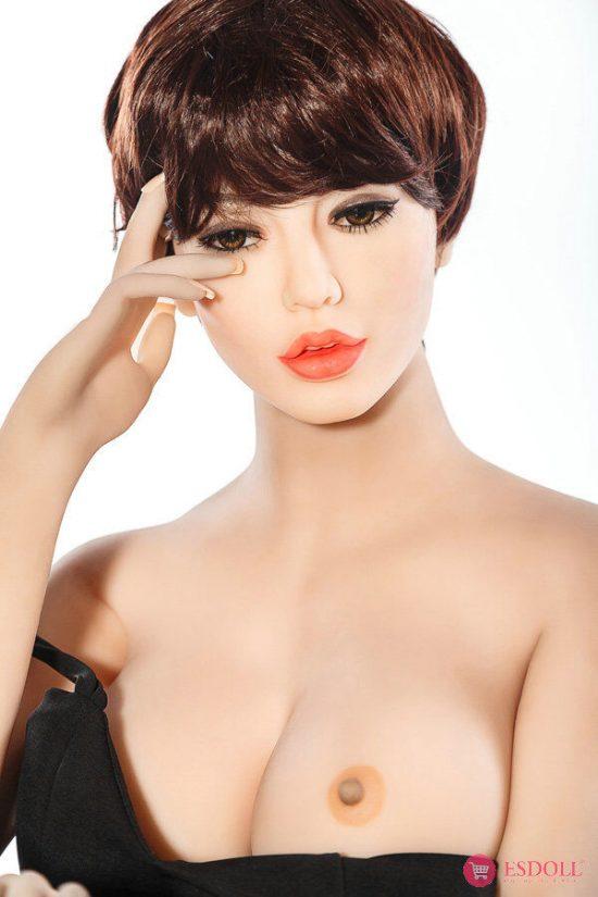 ESDOLL-exquisite-short-hair-adult-TPE-sex-dolls-165cm (3)