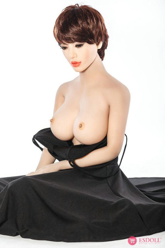 ESDOLL-exquisite-short-hair-adult-TPE-sex-dolls-165cm (7)