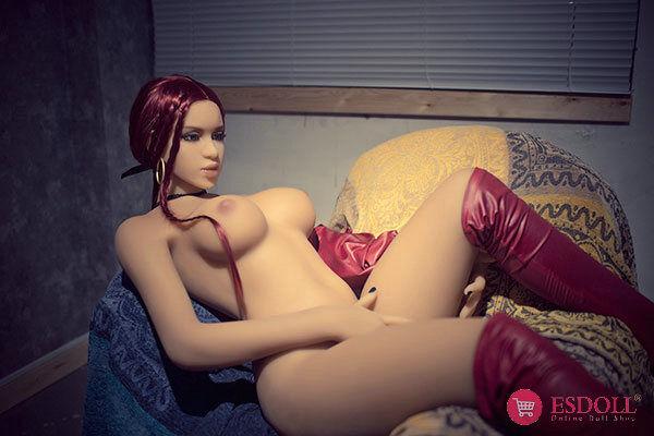 ESDOLL-145cm-red-hair-silicone-sexy-dolls (14)