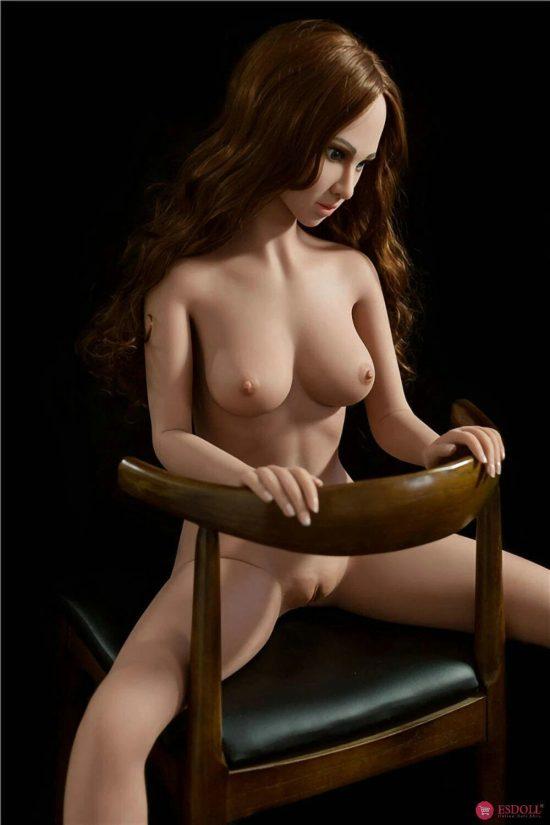 ESDOLL 140cm 4.59ft Real Sex Doll_0008