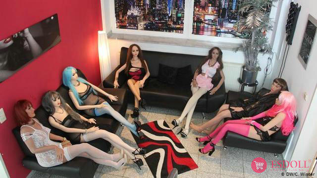 Sex doll offline store in the UK