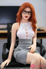 esdoll-157cm-Red-Hair-Small-Tits-Sex-Doll