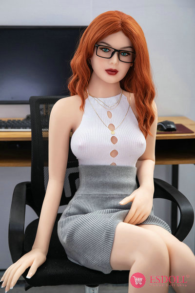 esdoll-157cm-Red-Hair-Small-Tits-Sex-Doll