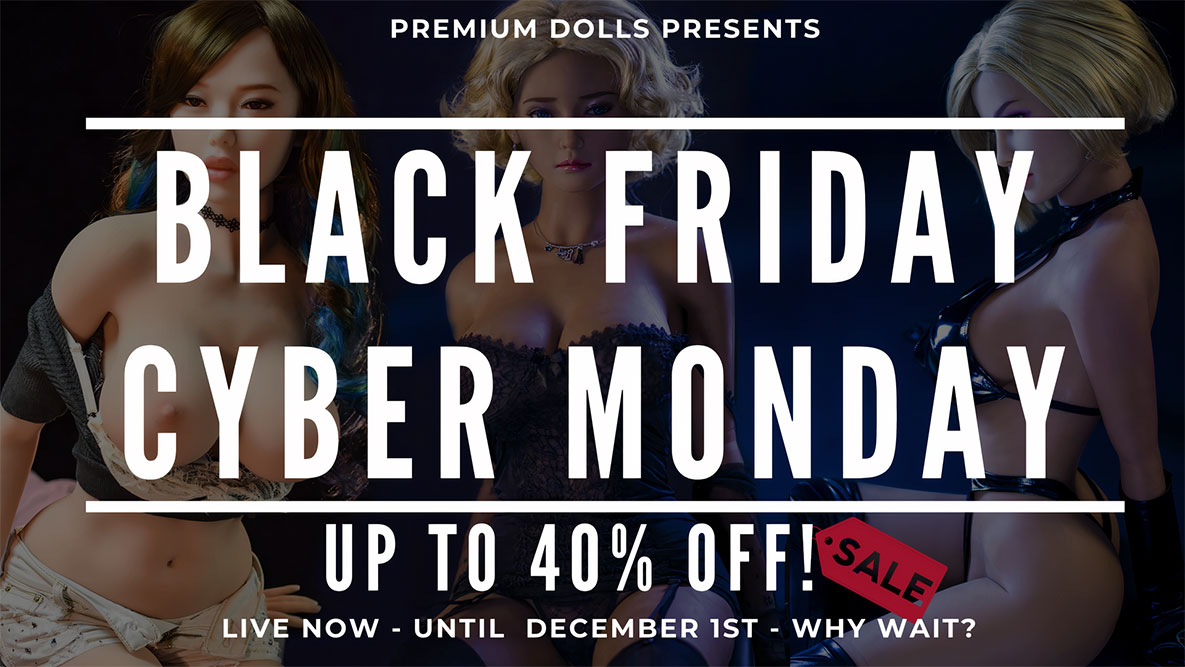 sex doll coupon code black day discount from esdoll.com