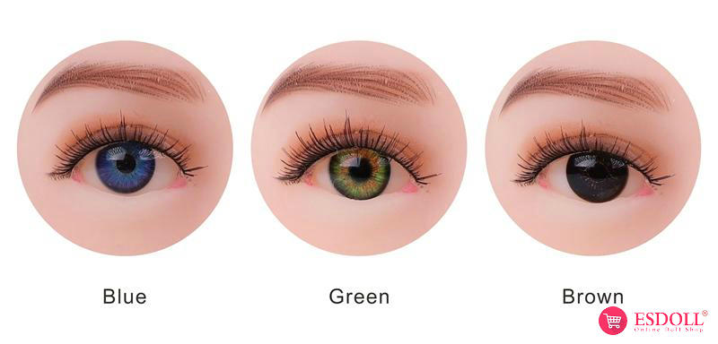 custom sex doll eye color